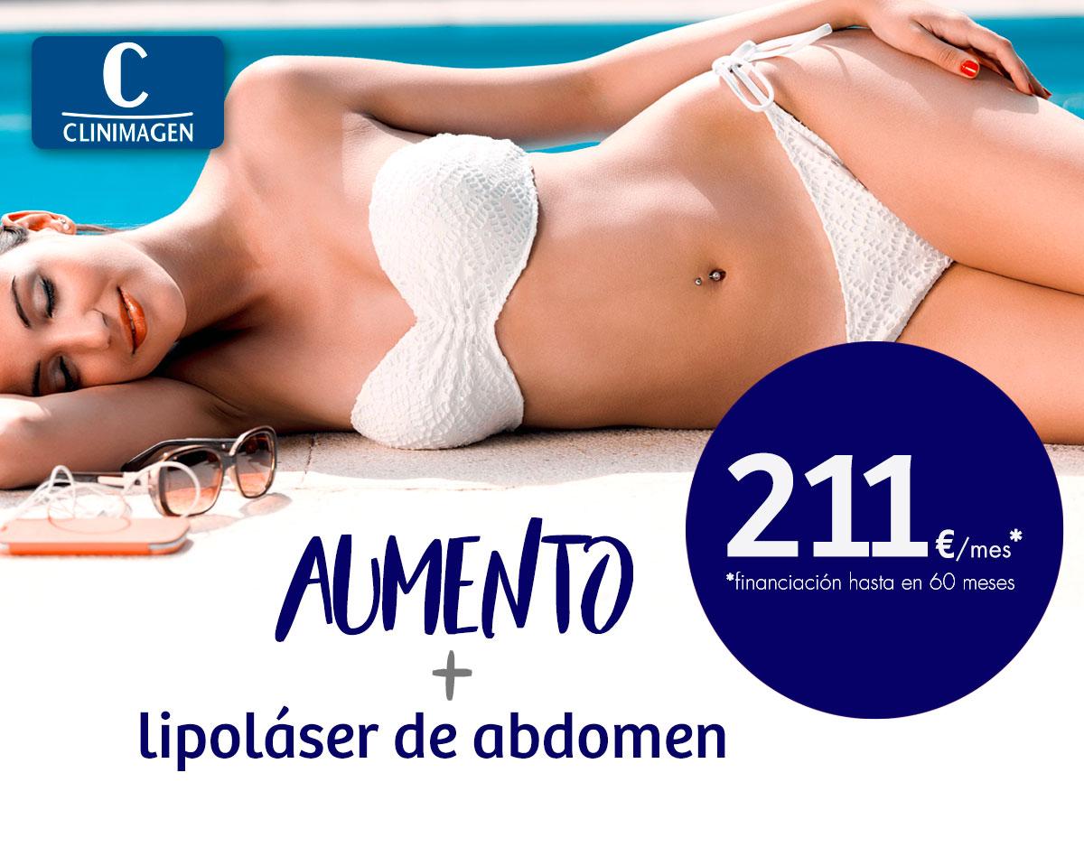 Promoción Aumento de Pecho + Lipoláser - Clinimagen