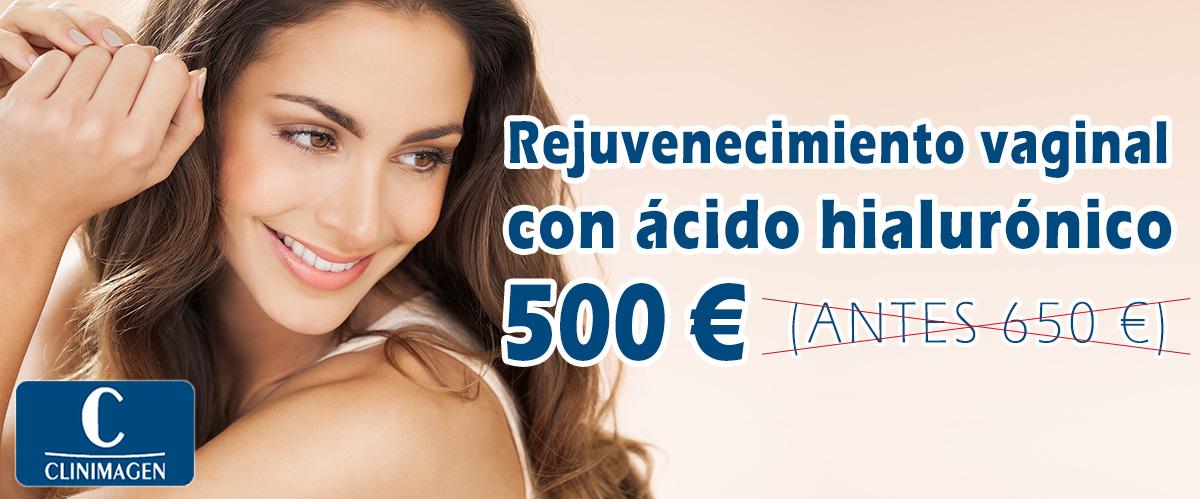 Promoción Rejuvenecimiento vaginal con ácido hialurónico - Clinimagen