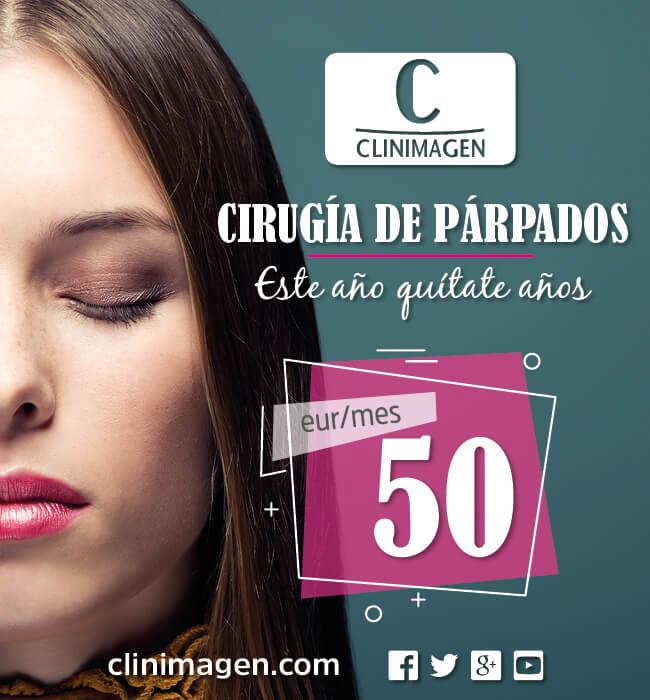 Promoción Cirugía de párpados o Blefaroplastia - Clinimagen