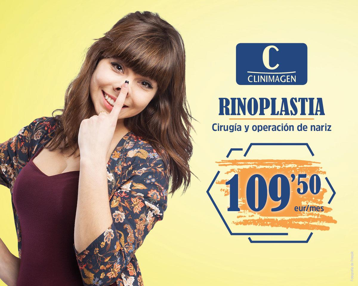 Promoción Rinoplastia - Clinimagen