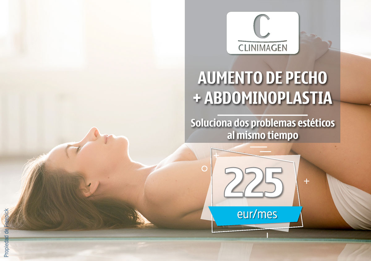 Promoción Aumento de Pecho + Abdominoplastia - Clinimagen