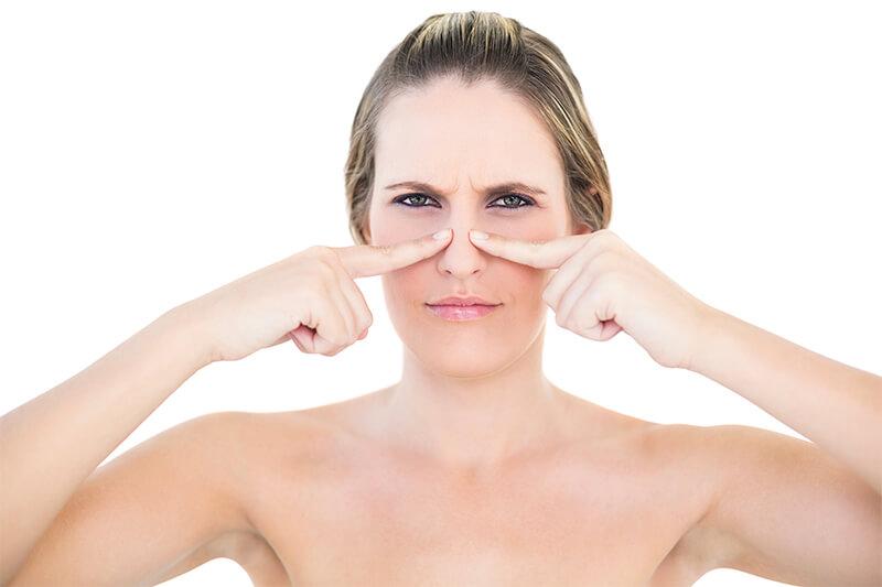 operación de la nariz